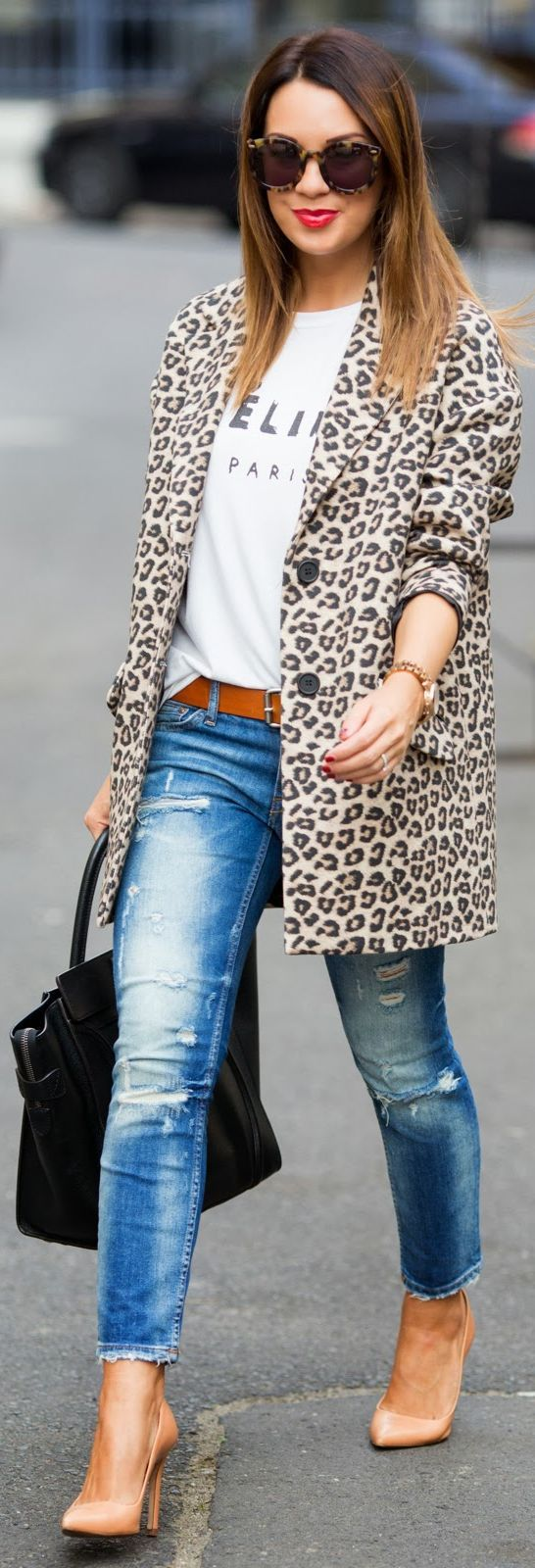 Simply Chic - Casual + Leopard.