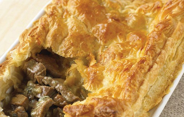 beef and stilton pie | Food i want to cook | Pinterest