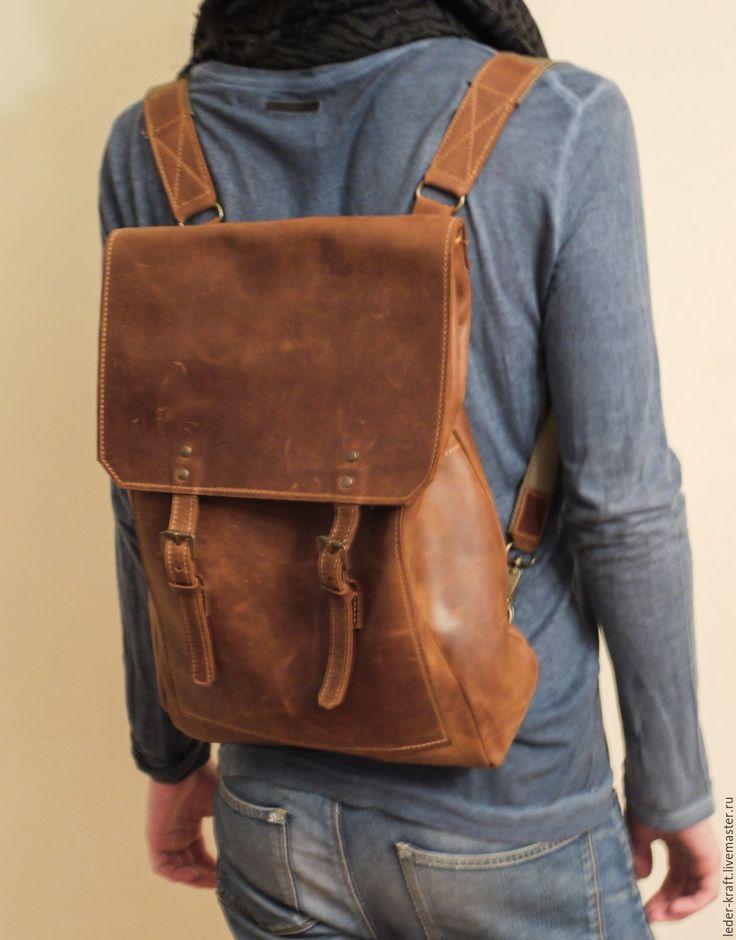 Как сделать кожаный рюкзак своими руками 10