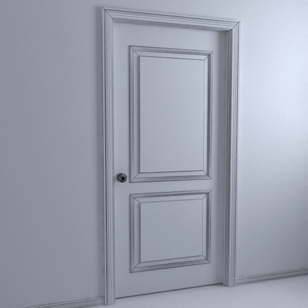Make like door surrounds or picture frame with piece of mdf