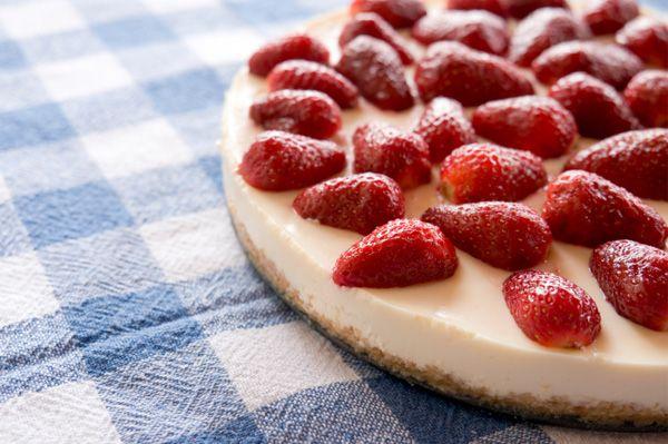 Easy no bake cheesecake food amp drink pinterest