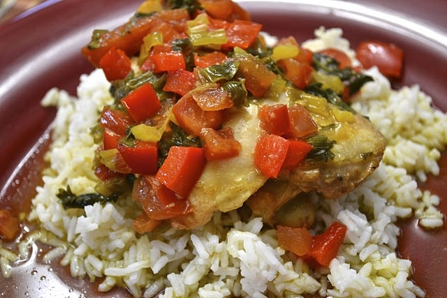 Sofrito Chicken Stew | Recipes | Pinterest