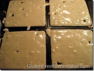Gluten Free multigrain waffle batter