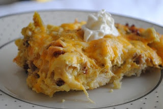 Green chili breakfast casserole | Breakfast | Pinterest