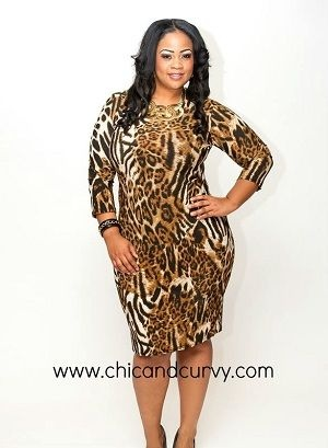 Plus Size Animal Print Dresses Ibovnathandedecker