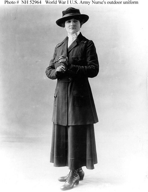 Army Nurse's Outdoor Uniform 1917-1919 Naval History...