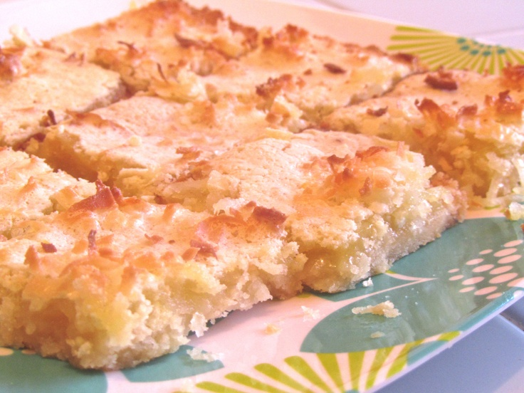 Lemon Coconut Bars | Food & Drink | Pinterest
