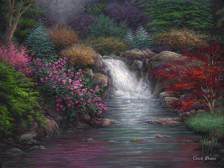 Garden Spring. By Chuck Pinson.