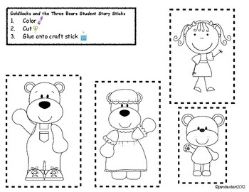 goldilocks and the three bears sequencing printables Car Tuning