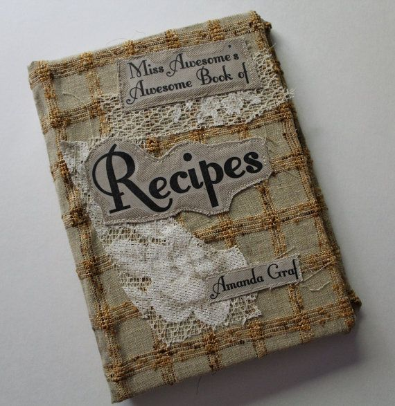 Miss Awesome's Awesome Book of Recipes By Amanda Graf by MissGraf, $35 ...