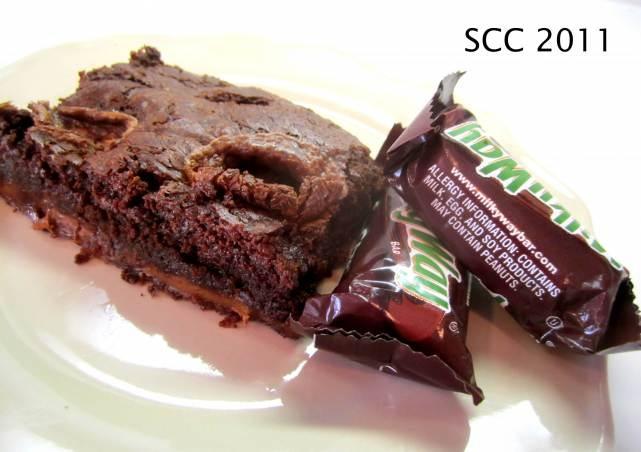 Milky Way Caramel Brownies | cookies and brownies | Pinterest