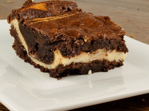 goat cheese brownie from boxed mix #goatvet Use hints at http://www ...