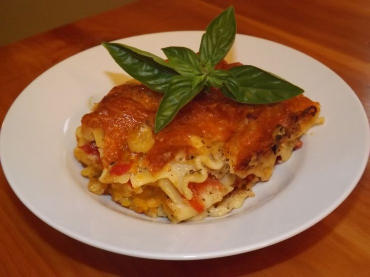 Butternut Squash Lasagna My husband and daughter created this yummy ...