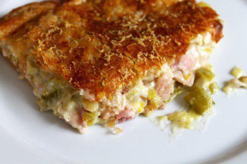 Chicken and Leek Pie | Yummo! Savoury | Pinterest