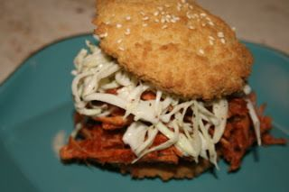 Barbecue Pulled Turkey Sandwiches by Paleo Table. Holy yum! #paleo