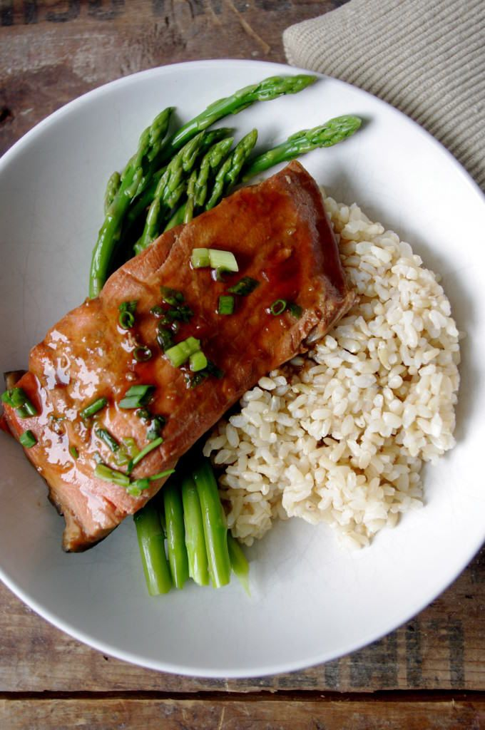 Simple Ginger Soy Poached Salmon-Delicious and Healthy Baked Salmon ...