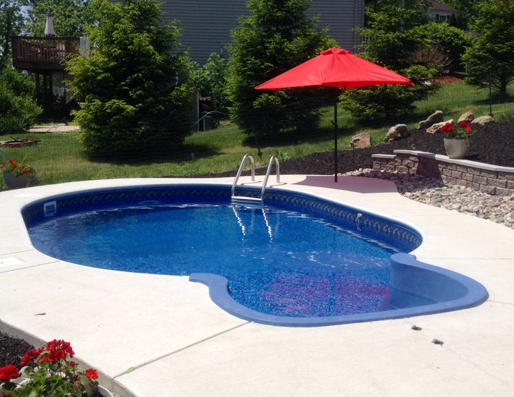 Small In Ground Pool With Deep End In Ground Pools