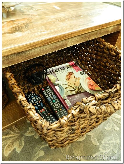 Do It Yourself Rustic Coffee Table Wood N Things To Make