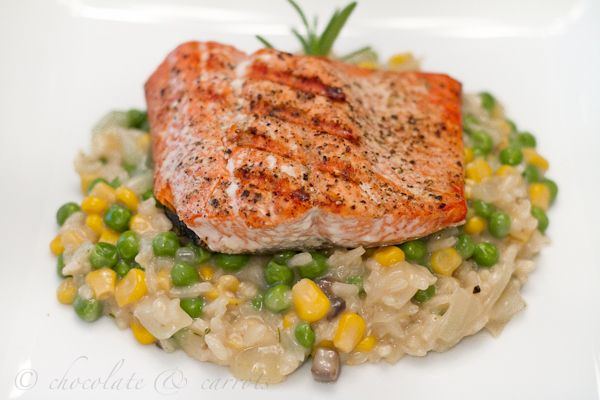Shrimp Risotto With Sweet Peas And Leeks Recipes — Dishmaps