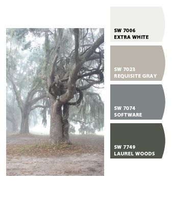 Interior. Paint colors from Chip It! by Sherwin-Williams