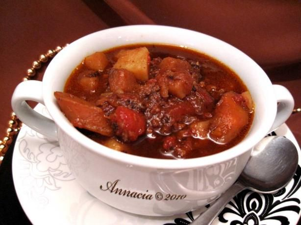 Burger Vegetable Soup(Crock Pot) from Food.com: Very versatile soup ...