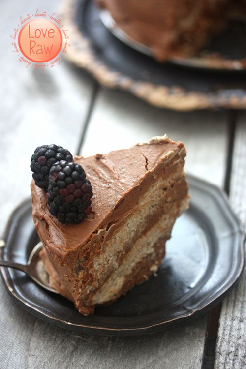 raw coconut layer cake | desserts | Pinterest