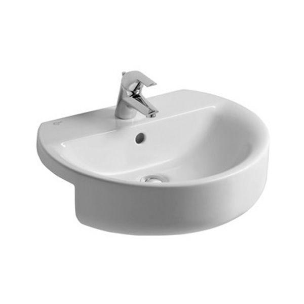 Low Profile Bathroom Sink : Ideal Standard Concept Sphere Semi-Countertop 45cm Size: 450(w) X 450 ...
