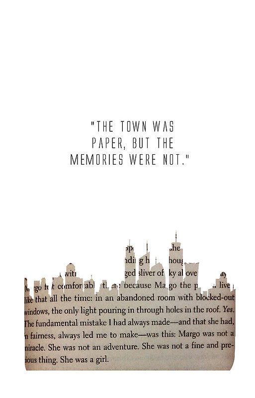 Paper towns setting quotes