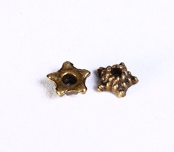Beads and Jewelry supplies - The Beads of Dreams - 5mm star flower ...