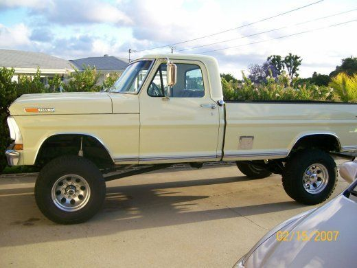 1970 F250 4x4 Craigslist Autos Post