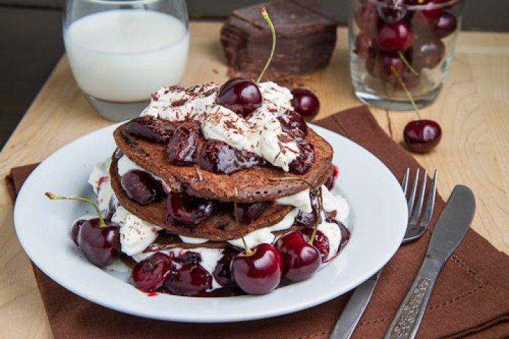 Black Forest Pancakes II Recipe
