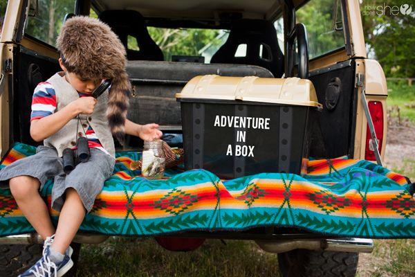 fatherson10  adventure box  gift for dad  different cute idea