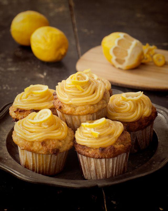 Healing Foods : Coconut & Lemon Cupcakes | making it real | Pinterest