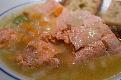 Simple Poached Salmon Recipe | Recipes | Pinterest