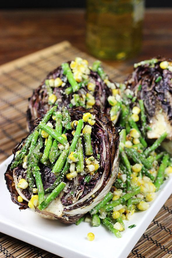 Grilled Radicchio Salad: break out of your grilling rut!