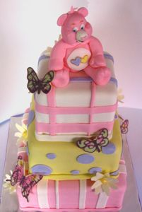 care-bear-cake by Amanda Oakleaf Cakes, via Flickr