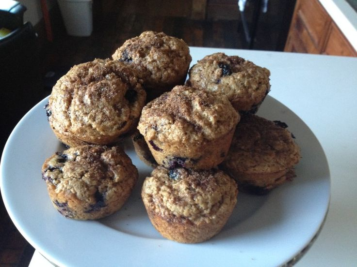 Whole Wheat Blueberry Muffins | snacks and sweets | Pinterest