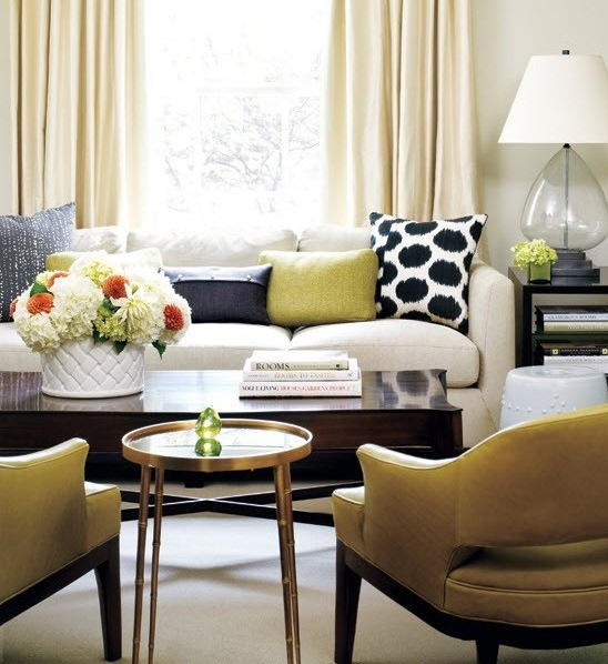 Gray navy blue and lime green living room living room for Modern living room green