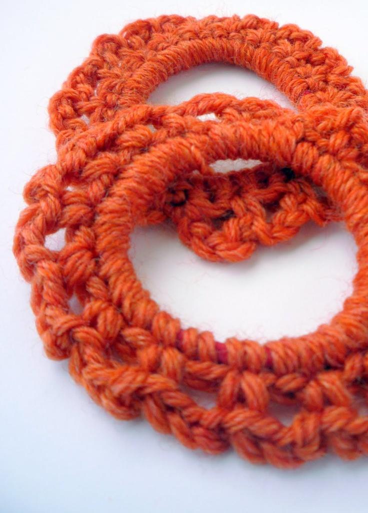 Crochet Hair Ties Pinterest : HAIR TIES