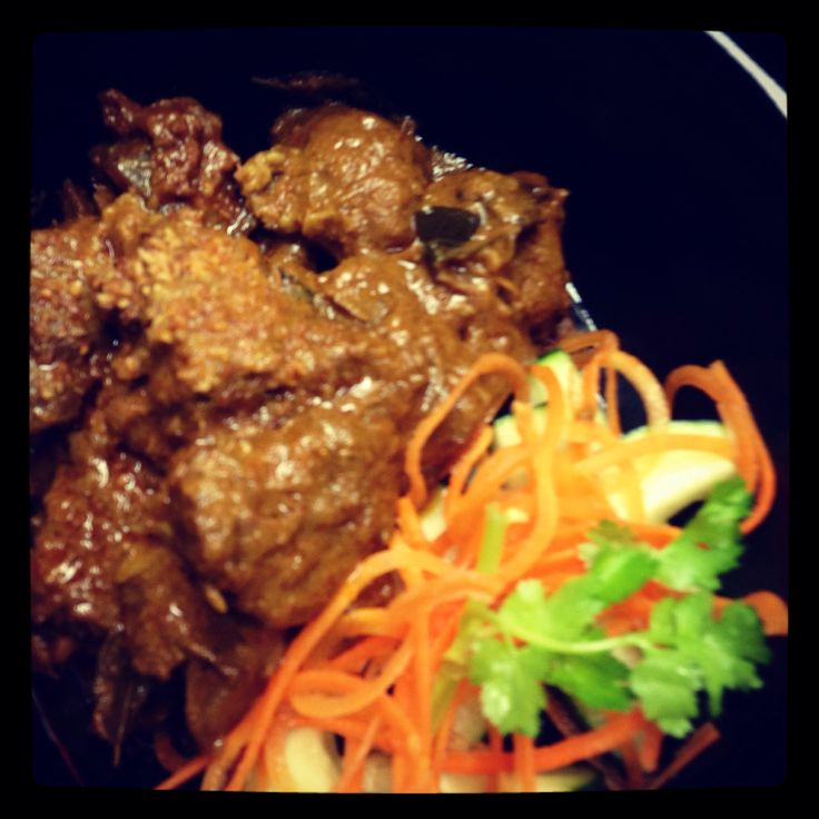 Spicy Beef Rendang (dry curry) | Laut NYC @ Union Sq 17th st and broa ...