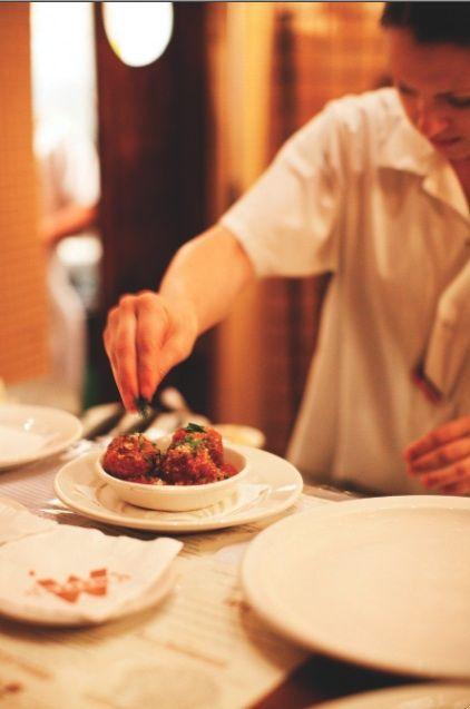 Recipe From the Chef: Mozza's Meatballs al Forno - Squid Ink