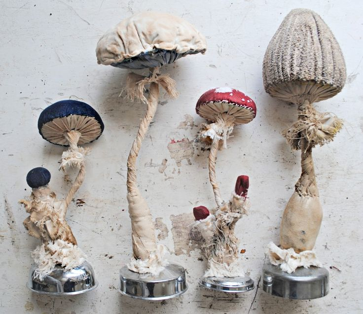 Pretty Things - Mr. Finch Textile Toadstools