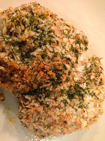 Coconut Almond Crusted Halibut | Kalli Foods