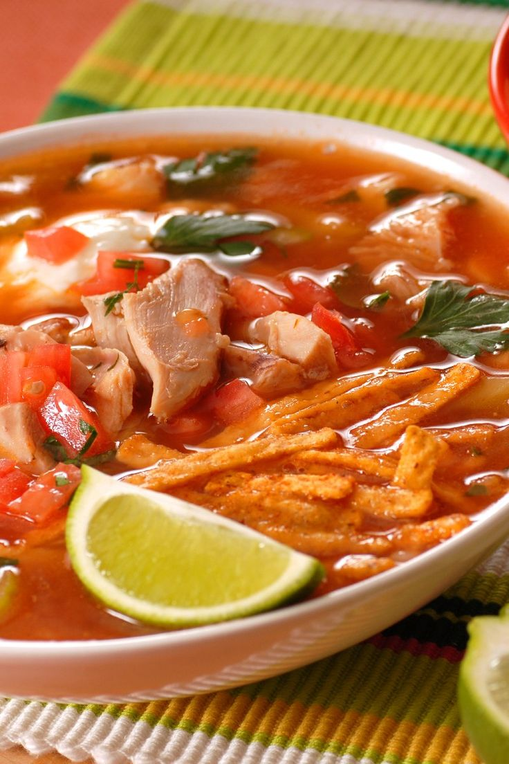 Chicken Tortilla Soup | Soup Nazi | Pinterest