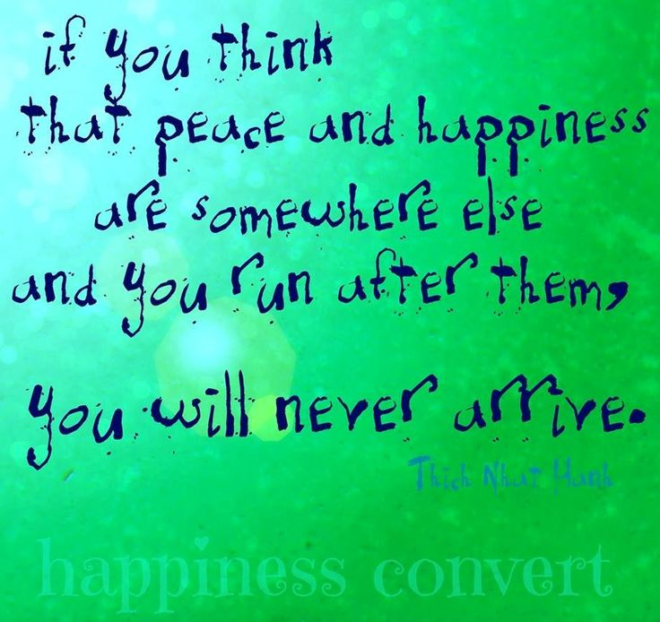 Peace Happiness Quotes This Way