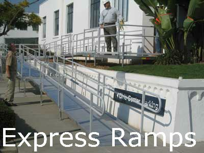 Pin by modular wheelchair ramps on buy handicapped access for Express modular pricing