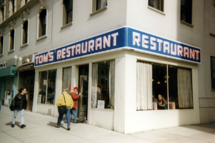 Tom s restaurant a diner at 112th street and broadway in manhattan