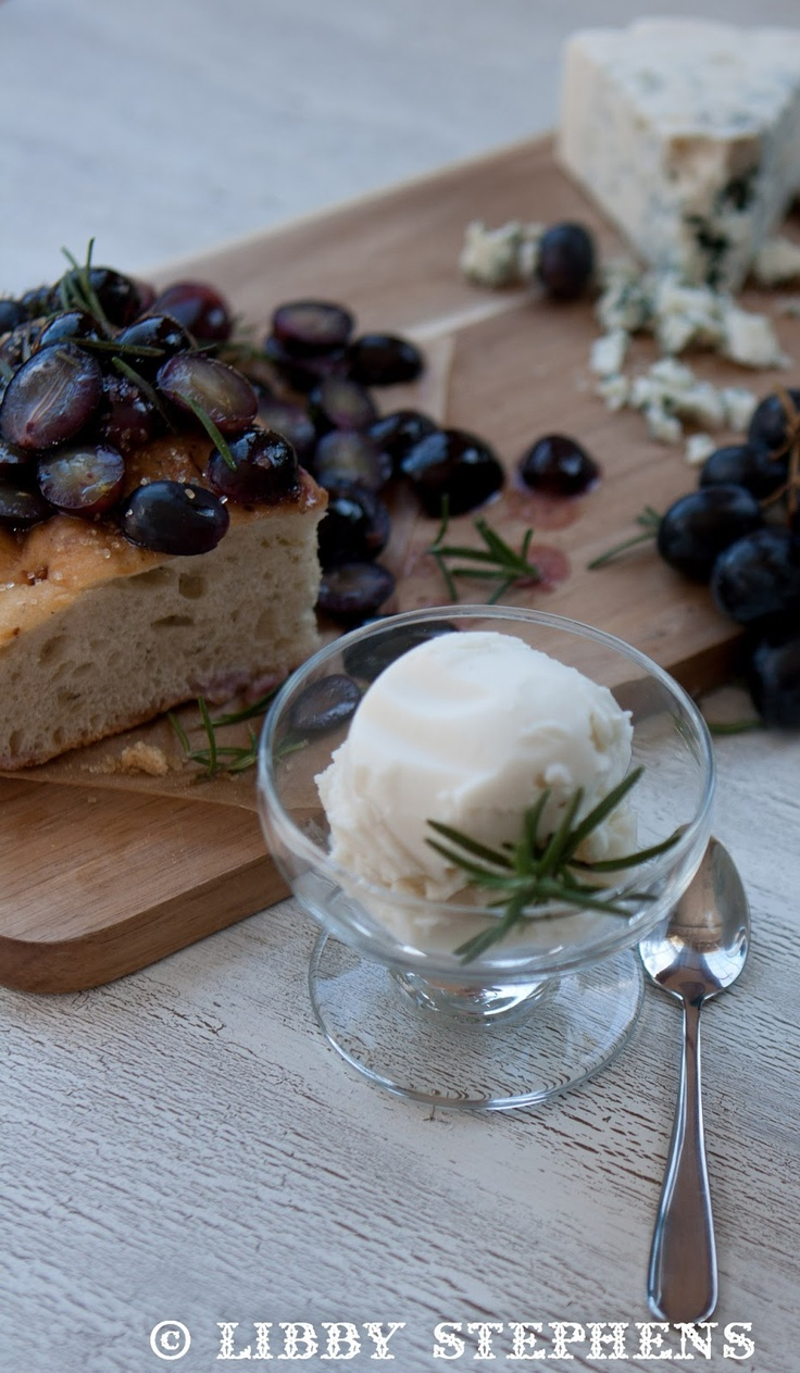 Grape Focaccia with Rosemary | Favorite Recipes | Pinterest