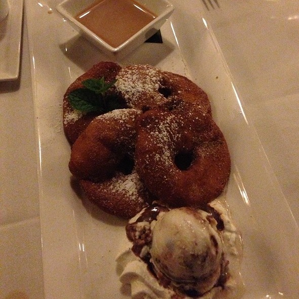 Apple Beignet With Coconut Almond Ice Cream 20 Cosmo Place San ...