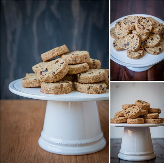 Gluten Free Maple Oat and Dried Cherry Shortbread Cookies by Irvin Lin ...